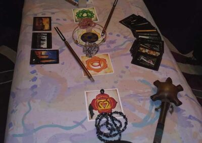 Remote Healing Table Layout   Shivanti   3rd Eye Guidance